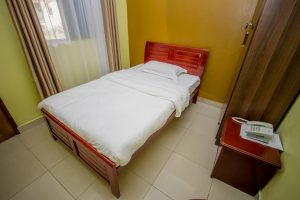 Standard Single Room for bed and breakfast (B&B) in Bushenyi